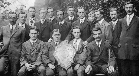 1912 Courier Trophy winners Uphall Golf Club